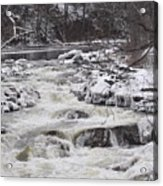 Rapids At Bull's Bridge 1 Acrylic Print
