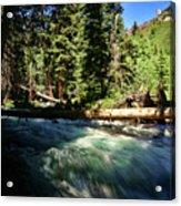 Rapids Near Maroon Bells Acrylic Print