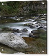 Rapids On The Washougal River Acrylic Print