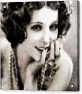 Raquel Torres, Vintage Actress Acrylic Print