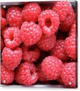 Rasberries Market Bergen Acrylic Print