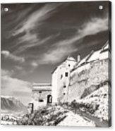 Rasnov Fortress Acrylic Print