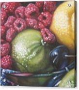 Raspberry Lime Acrylic Print
