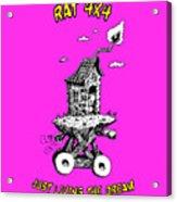 Rat 4x4 - Just Living The Dream Acrylic Print
