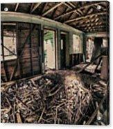 Rat Nest, Real Estate Series Acrylic Print