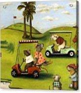 Rat Race 2  At The Golf Course Acrylic Print