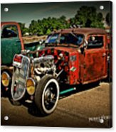 Rat Rod For Sale Acrylic Print
