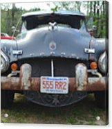 Rat Rods - 1952 Dodge Front End Acrylic Print