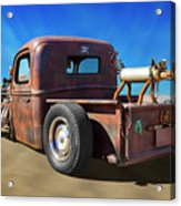 Rat Truck On Beach 2 Acrylic Print