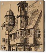 Rathaus Acrylic Print