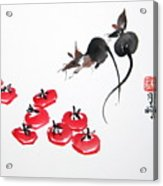 Rats In Raid Acrylic Print