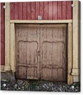 Rauma Old Town Acrylic Print
