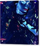 Raven Woman Acrylic Print