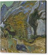 Ravine With A Small Stream Saint Remyde Provence  October 1889 Vincent Van Gogh 1853  1890 Acrylic Print