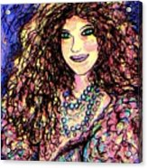 Ravishing Beauty Acrylic Print