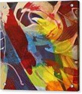 Raw Paint - 281 Acrylic Print