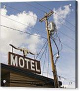 Rawhide Motel Acrylic Print