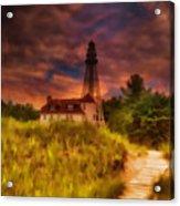 Rawley Point Lighthouse Acrylic Print