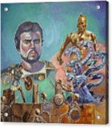 Ray Harryhausen Tribute Jason And The Argonauts Acrylic Print