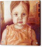 Raylee Ann Acrylic Print by Rebecca Poole