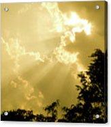 Rays Of Glory Acrylic Print