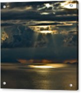 Rays Of God  Acrylic Print
