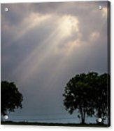 Rays Of Light Acrylic Print