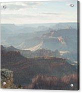 Rays Of The Grand Canyon Acrylic Print