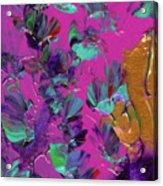 Razberry Ocean Of Butterflies Acrylic Print