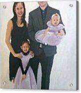 Razi And Her Family Acrylic Print