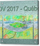 Rdv 2017 Quebec Mug Shot Acrylic Print