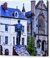 Reach Out - Belfast Ireland Acrylic Print
