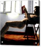 Reader Acrylic Print