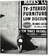 Reading 1964 Acrylic Print