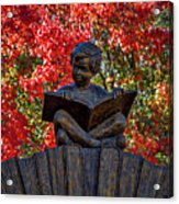 Reading Boy - Santa Fe Acrylic Print