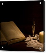 Reading Composition Acrylic Print