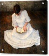 Reading  Acrylic Print