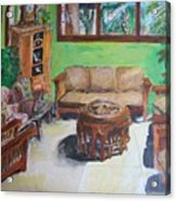Reading Room Acrylic Print