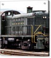 Reading Rr Engine 467 Acrylic Print