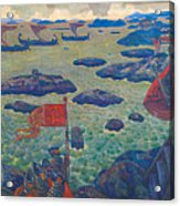 Ready For The Campaign, The Varangian Sea Acrylic Print