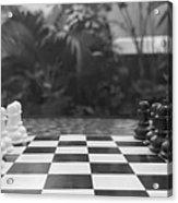 Ready Set Chess Acrylic Print