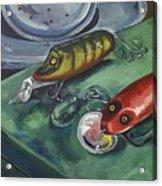 Ready To Fish Acrylic Print