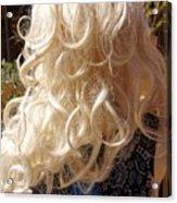 Real Blond Acrylic Print