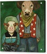 Real Cowboys 3 Acrylic Print
