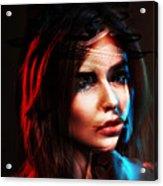 Real Patricia Acrylic Print