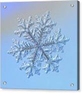 Real Snowflake - Hyperion Acrylic Print