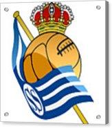 Real Sociedad De Futbol Sad Acrylic Print