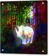 Real Unicorn Acrylic Print
