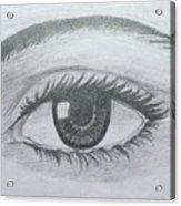 Realistic Eye Acrylic Print