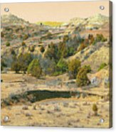 Realm Of Golden West Dakota Acrylic Print